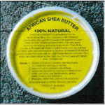shea butter round